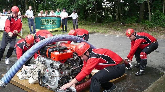 Kolšovští hasiči v akci