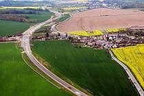 Stavba silnice I/44 Vlachov – Rájec, silniční obchvat obce Zvole
