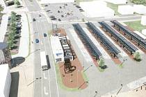 Studie budoucí podoby přestupního terminálu Šumperk.