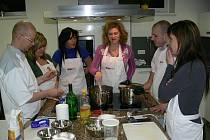 Ze zábřežského kurzu vaření