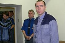 Odsouzený na doživotí Zdeněk Vocásek.