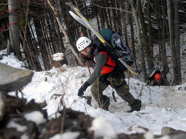 Snímek z předchozích ročníků soutěže Winter Survival