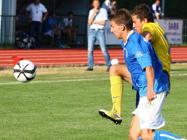 Šumperk versus Havířov (modré dresy).