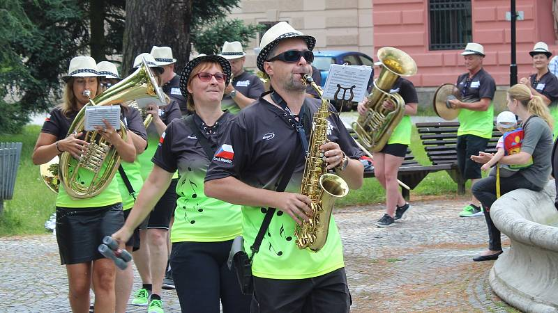 Festival Hudba bez hranic v ulicích Šumperku 2019