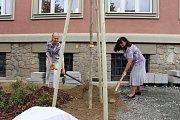Slavnostní otevření nové knihovny v Šumperku.
