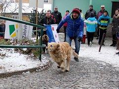 Welzlův běh do zámecké brány v Zábřehu