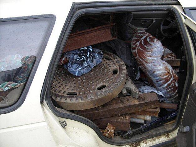 Auto podezřelých