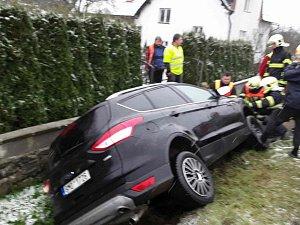 Tragická nehoda v Rudě nad Moravou