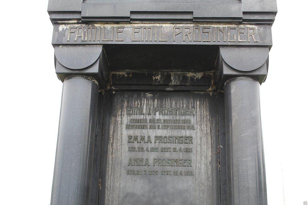 Hrob rodiny Prosingerovy.