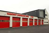 Nová stanice profesionálních hasičů v Šumperku.