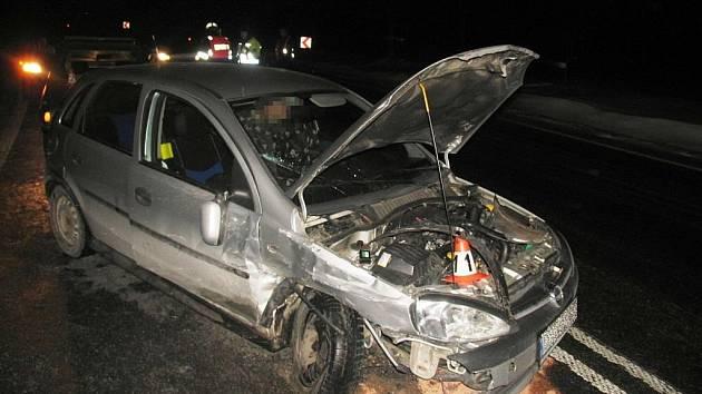 Snímky z hromadné nehody na Bludovském kopci