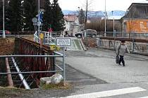 Secesní most v Jeseníku, který je kulturní památkou, potřebuje opravu.