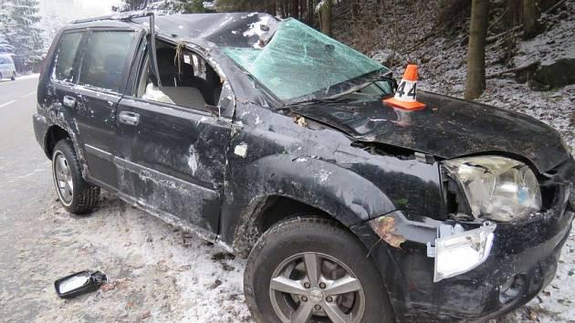 Nehoda v Branné.
