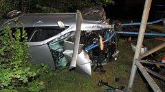 Nehoda v Mikulovicích. 4.8.2017