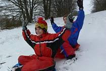 Sněhová nadílka pro radost i starost.