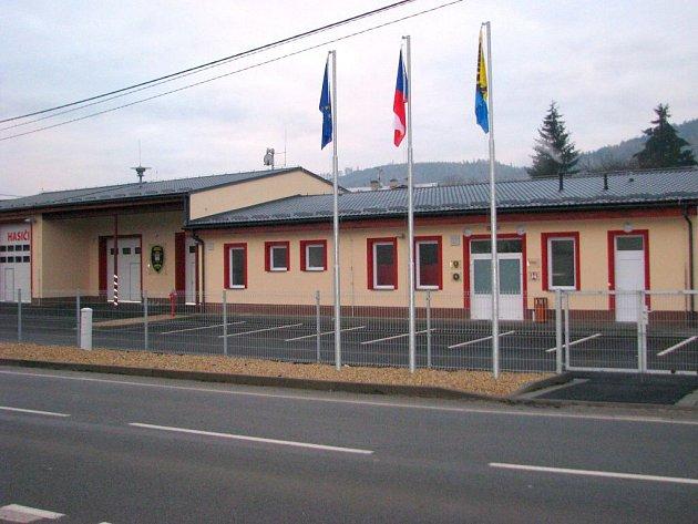 Nová hasičská zbrojnice v Temenici.