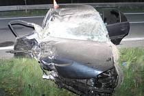 Nehoda nedaleko Moravičan
