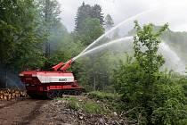 Krajské cvičení složek IZS (rozsáhlý požár lesa) FOREST FIRE 2017.