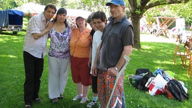 Klienti, kteří se z šternberského Vincentina přestěhují do Šumperku.