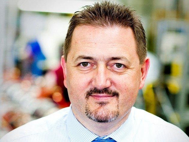 Ředitel mohelnického závodu společnosti Siemens Pavel Pěnička.