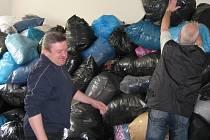 V Mohelnici se podařilo ve sbírce nashromáždit pět tun materiálu.