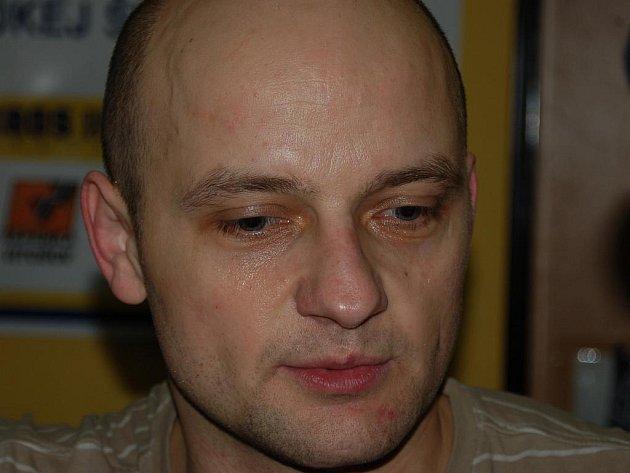 Patrik Rimmel po utkání s Olomoucí