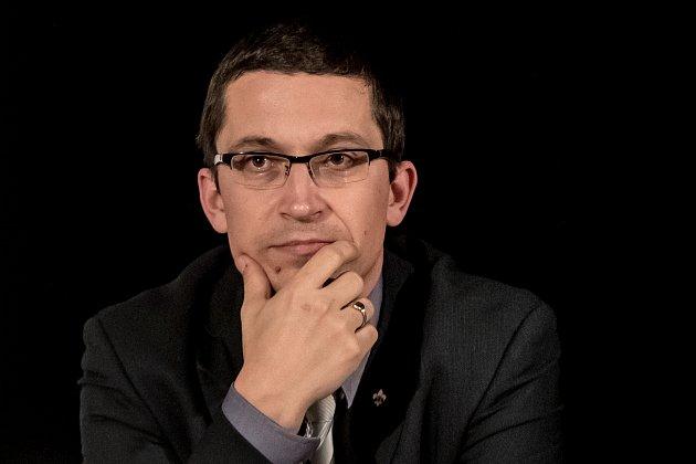 Politolog a rodák z Bludova Stanislav Balík.