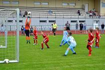 Šumperský mládežnický fotbal. Ilustrační foto.