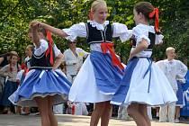 Folklorní festival v Šumperku. Soubor Holúbek z Ostravy