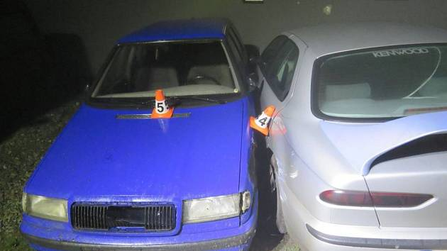 Nehoda v Kopřivné.