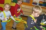 V mateřské škole v Prievidské ulici v Šumperku zkoušejí Walkodila.