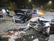 Nehoda v Mohelnici
