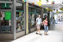 Informační centrum Jesenicka v obchodním centru Alkron.