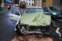 Nehoda v Postřelmově v pondělí 3.srpna.