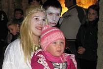 Halloween na zámku v Úsově