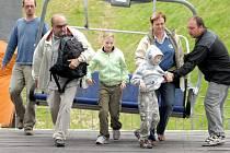 Návštěvníky vyveze na hrad lanovka