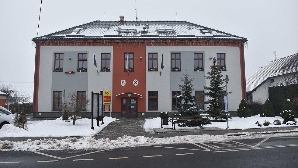 Sudkov - obecní úřad.