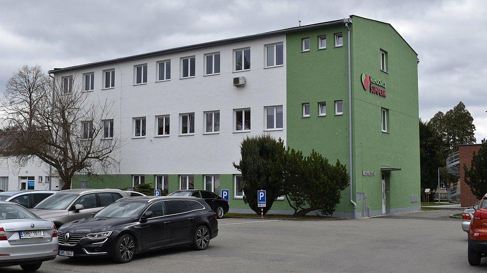 Nemocnice Šumperk. Ředitelství