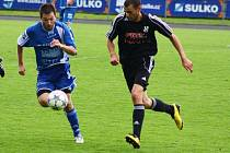 Zábřeh versus HFK Olomouc (tmavší dresy)