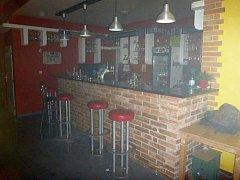 Požár v baru v Šumavské ulici v Šumperku