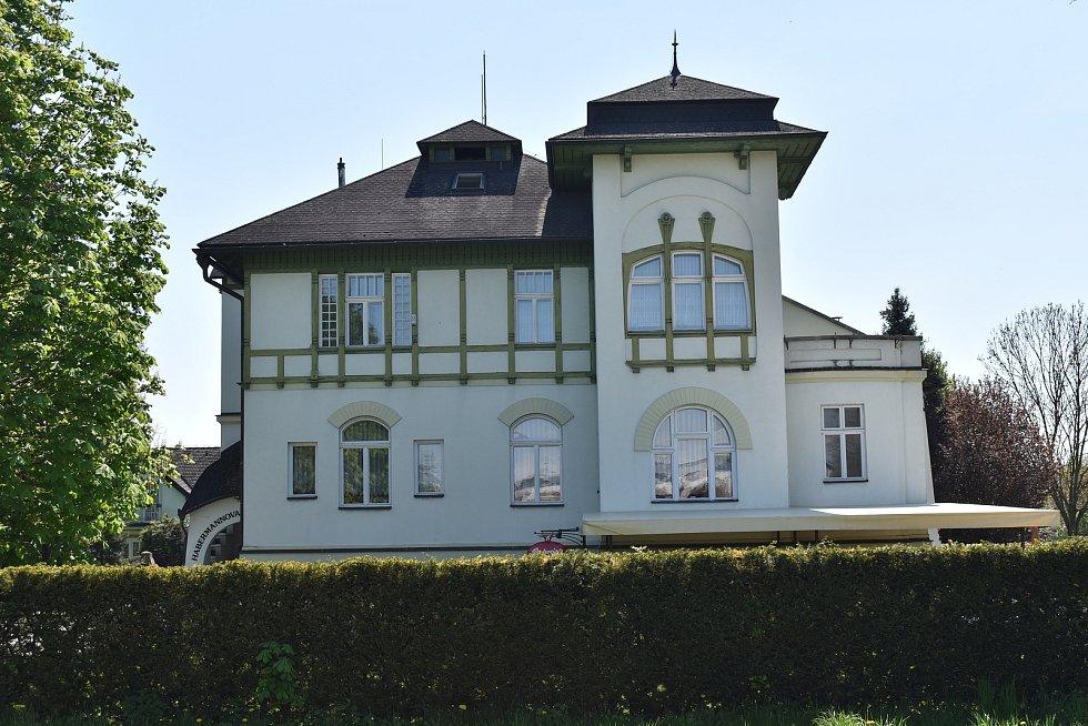 Habermannova vila u Bludova.