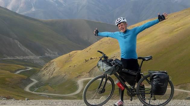 Bývalý hokejista a nyní ultrabiker Radomír Čížek