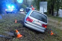 Po nehodě v Kobylé nad Vidnavkou nadýchal řidič přes čtyři promile.
