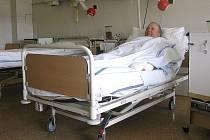 Nové lůžko v Šumperské nemocnici