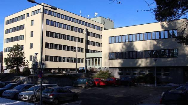 Administrativní komplex v Jeseníku zvaný Pentagon či Ipos