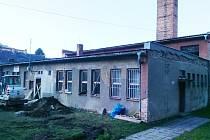 Z bývalé prádelny v Hanušovicích bude komunitní centrum pro děti.
