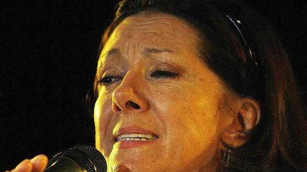 Marie Rottrová se chystá do Šumperku