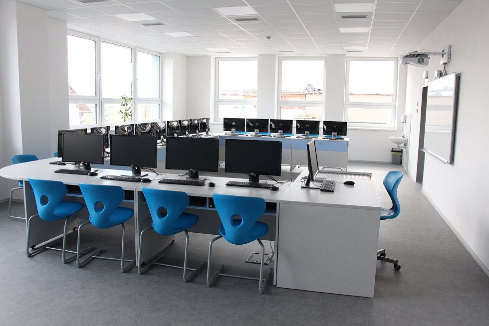 Nové prostory školy v Rovensku