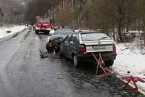 Nehoda se stala mezi Hanušovicemi a Raškovem.