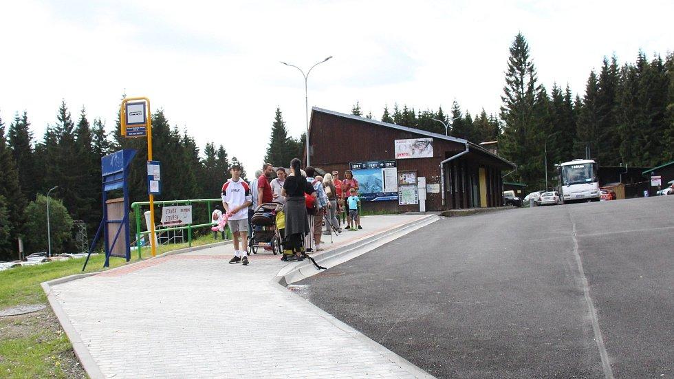 Turistický ruch v oblasti Pradědu